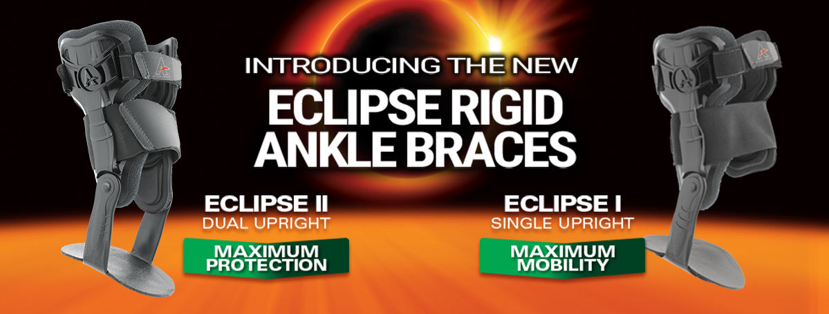 The New Eclipse II Rigid Ankle Braces