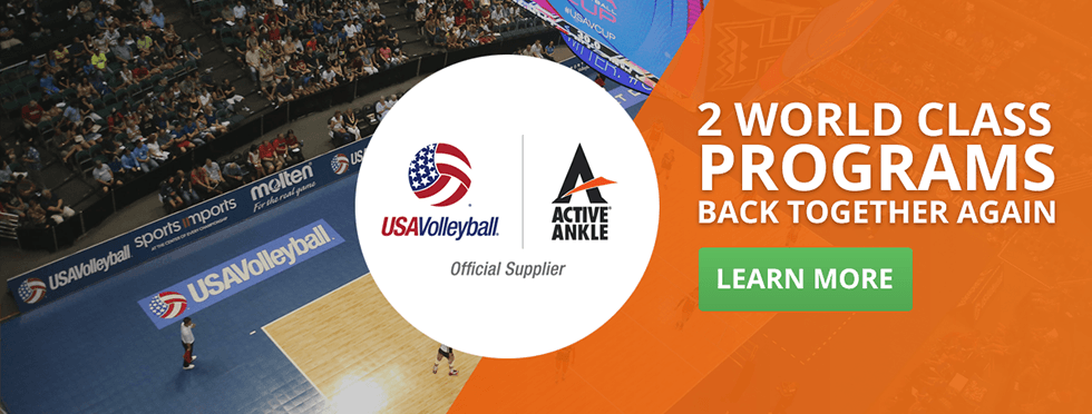 USAV   Active Ankle   Official Supplier